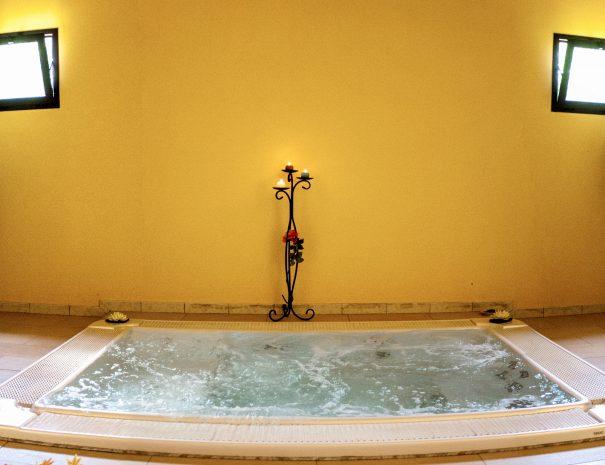 il centro benessere dell'Hotel Villaggio Eurolido