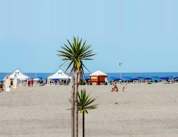 Mare, spiaggia ed il lido del Villaggio Vacanze Eurolido