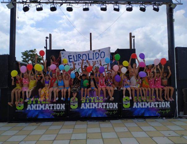 animazione per bambini al villaggio eurolido